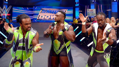 New Day Kofi Kingston Big E Xavier Woods wrestling WWE