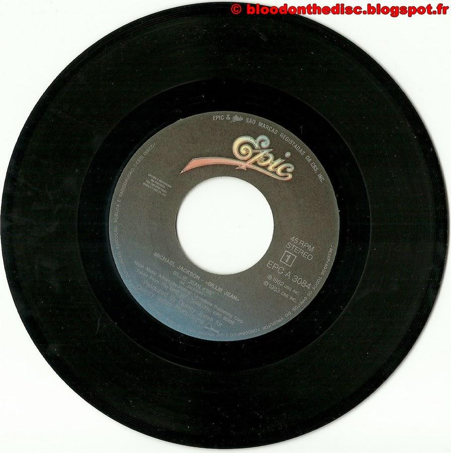 Billie Jean 45T Porto Side 1