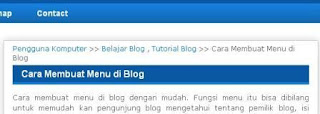 cara memberi warna background judul posting