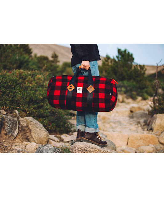 WOOLRICH X Topo Designs Duffle Bag Made In USA