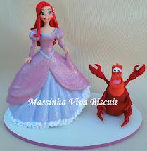 Princesa Ariel e Sebastião