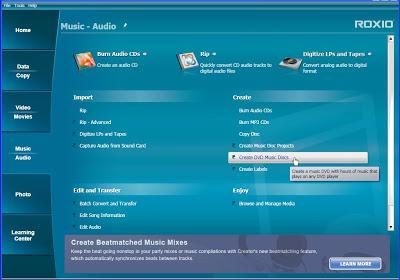 Roxio Creator 2012 | cd dvd burner software