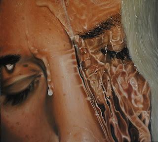 Arte hiper-realista com água - 3