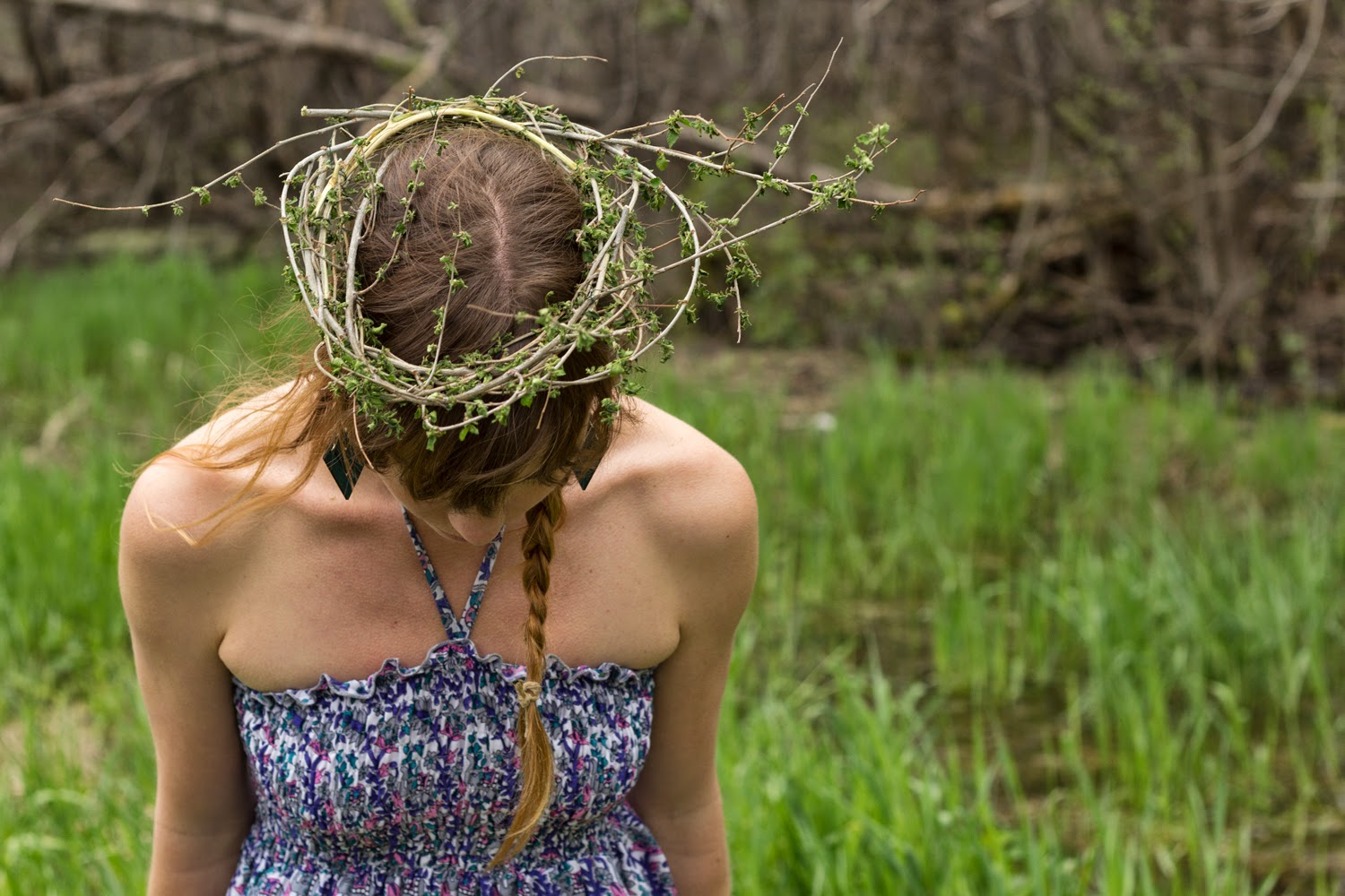 How to Make a Twig Crown