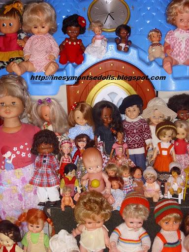 Las muñecas de Inés y Montse