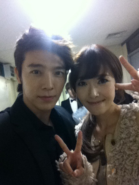 Jessica Jung and Donghae