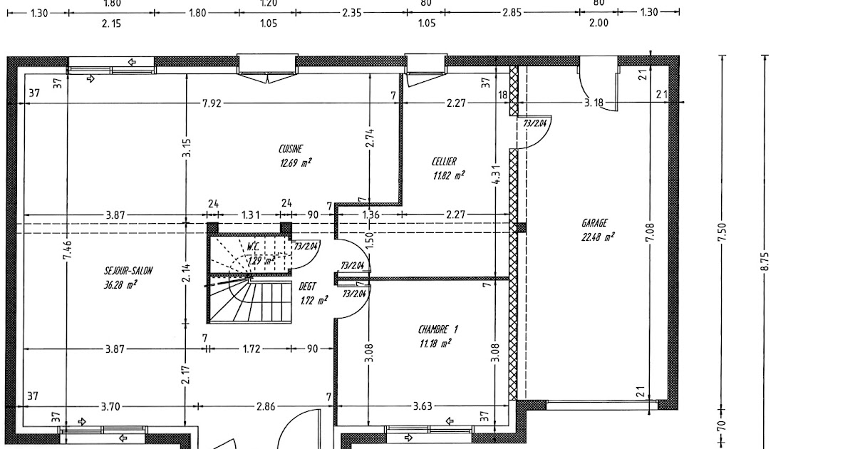 Plan maison etage 120m2 oo05 jornalagora for Plan maison contemporaine 100m2