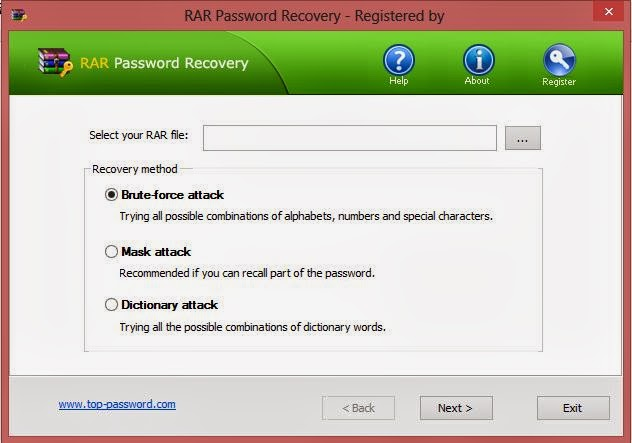 Download Winrar password remover 1 1 rc16 Full