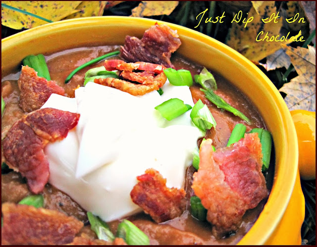 Crock Pot Soup Recipe Bacon. Chorizo and Beans...let the fiesta ...