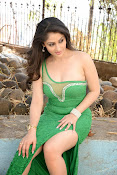 Ankita Sharma Hot photo shoto in Green-thumbnail-8