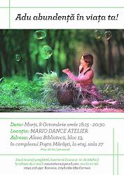 workshop: 8 octombrie Cluj-Napoca înscrie-te la adresa de e-mail asociatiara@gmai.com