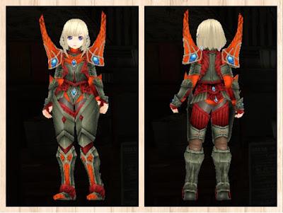 蛮竜の鎧・赤2