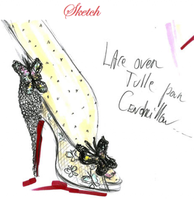 louboutin cindrella design