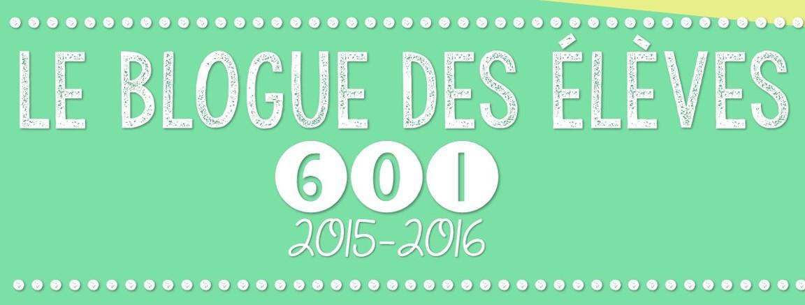 Le blogue des élèves 601
