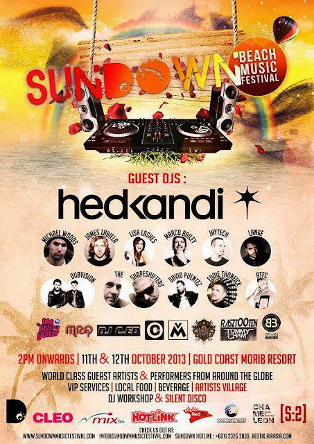 [ GIVEAWAY ] Sundown Music Festival 2013