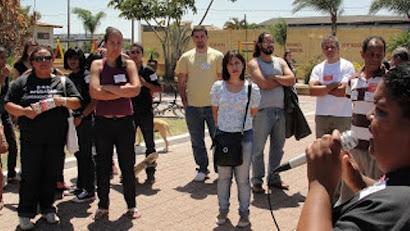 Rio das Ostras, 27 de setembro de 2011: Paralisação da rede municipal