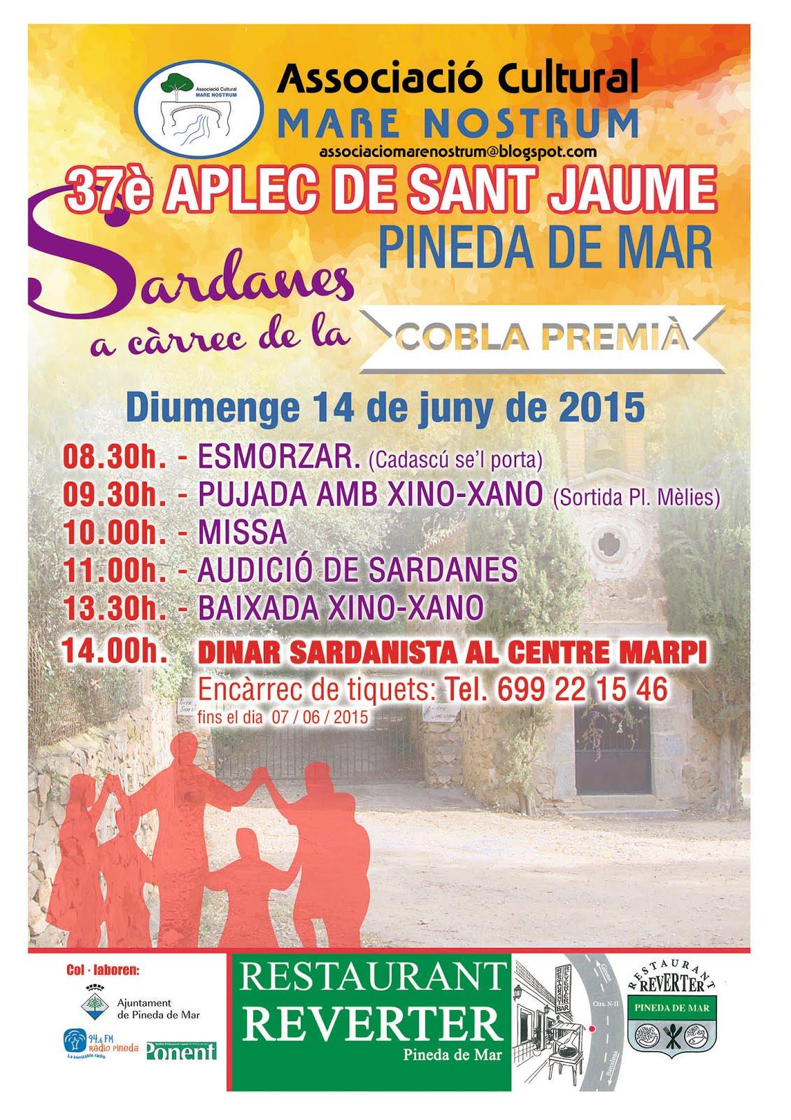 37è. APLEC DE SANT JAUME