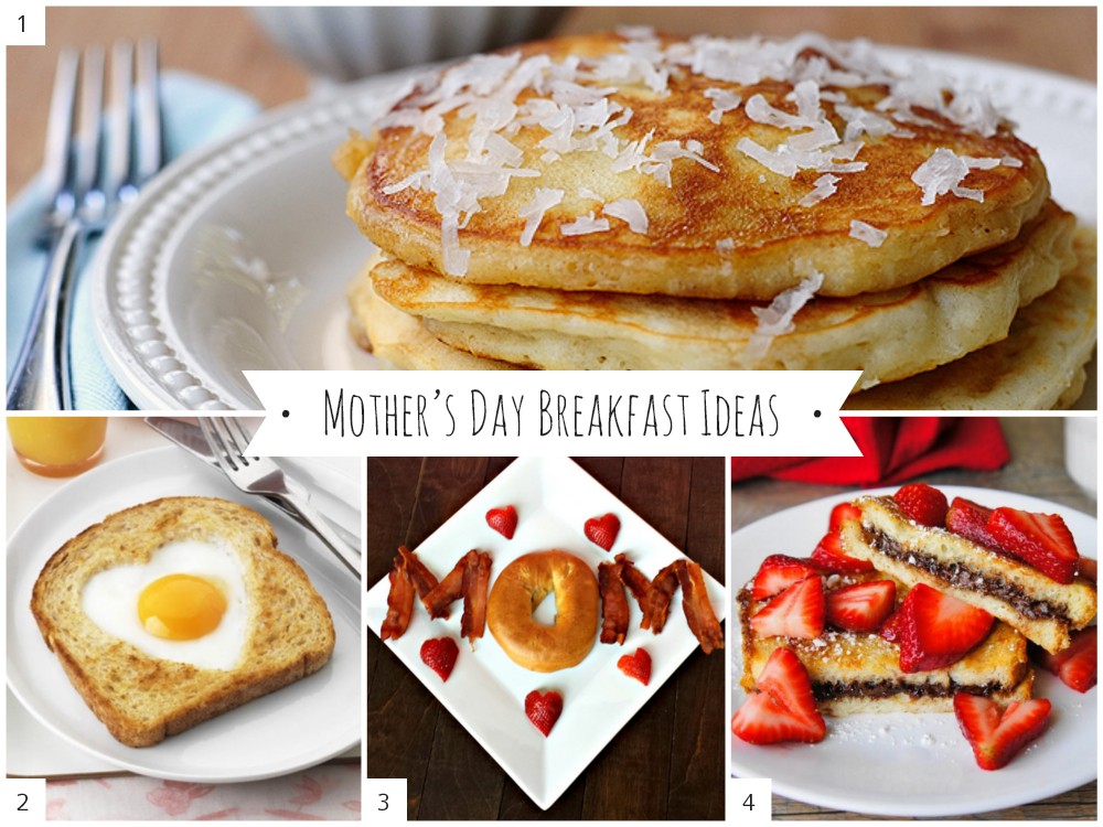 Start Mother's Day off right with your mom, or for your wife on behalf of the kids by making a mini I love you mom garland that you can stick into her breakfast stack of waffles or pancakes.