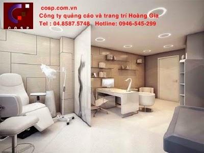 không gian phòng khám