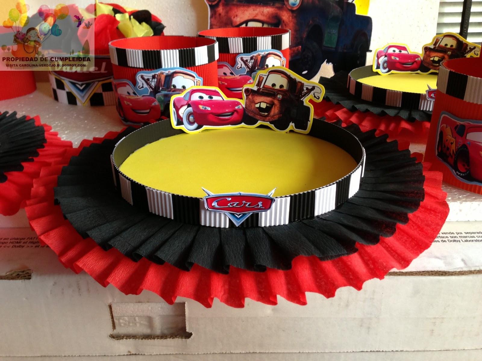 Decoraciones infantiles cars - Decoracion para cumpleanos infantiles en casa ...