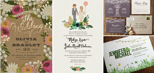 Garden Themed Wedding Invitations Singapore Photo