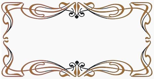 Bordes decorativos para tarjetas de presentacion imagui for Adornos para paginas