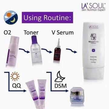Urutan Pemakaian La'Soul Skin Care