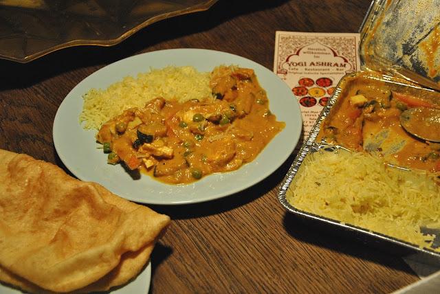 Sabzi Korma von Yogi-Ashram mit Foodora geliefert