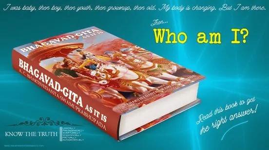 Bhagavad Gita - Who Am I