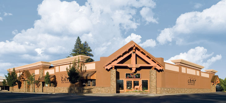 George Gates Jr. Established Gates Furniture In Grants Pass, Oregon In  1946. The Original 5000 Square Foot Store Was Located On The Corner Of 7th  And H ...