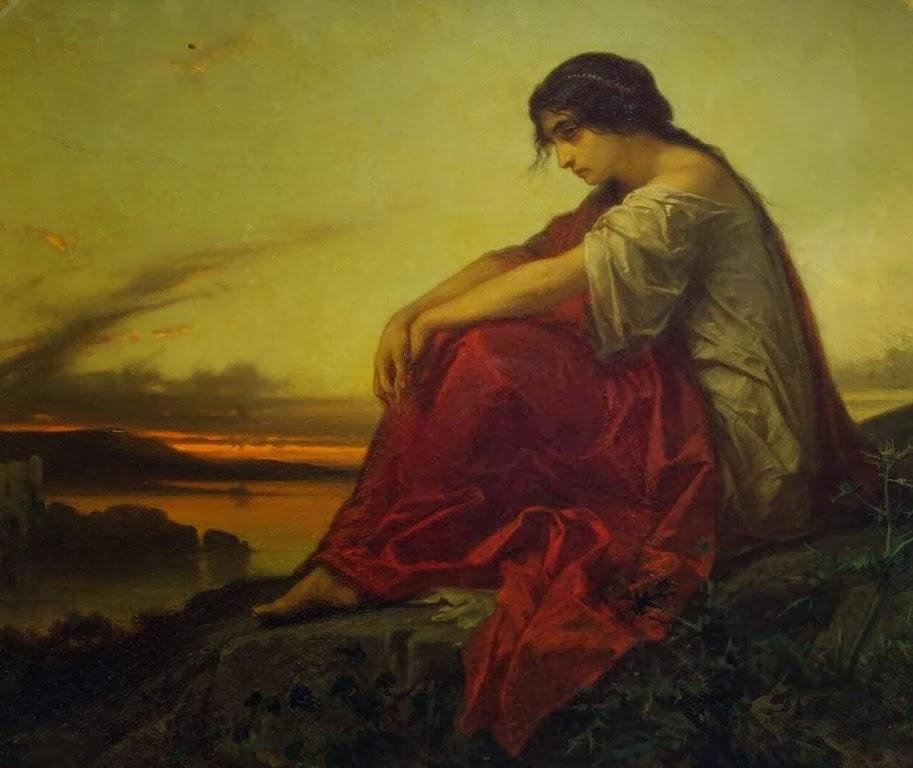 Eduard Hamman - Disillusion, 1851