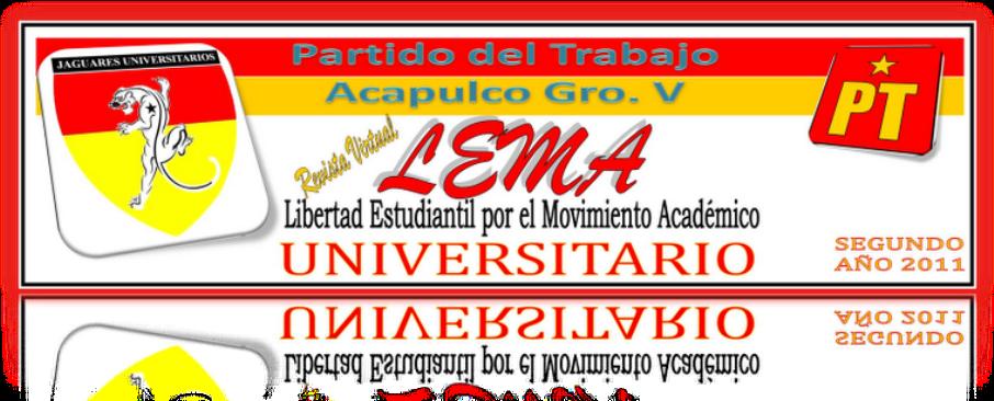 REVISTA VIRTUAL LEMA UNIVERSITARIO 2