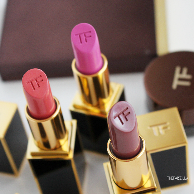 tom ford lip color fall 2015 collection, review, swatch, tom ford lip color so vain,lilac nymph,forbidden pink