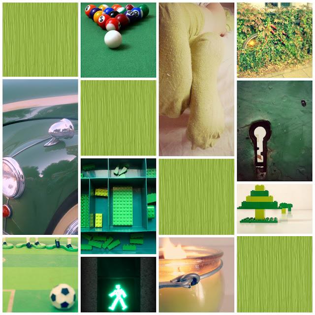 Verde: collage