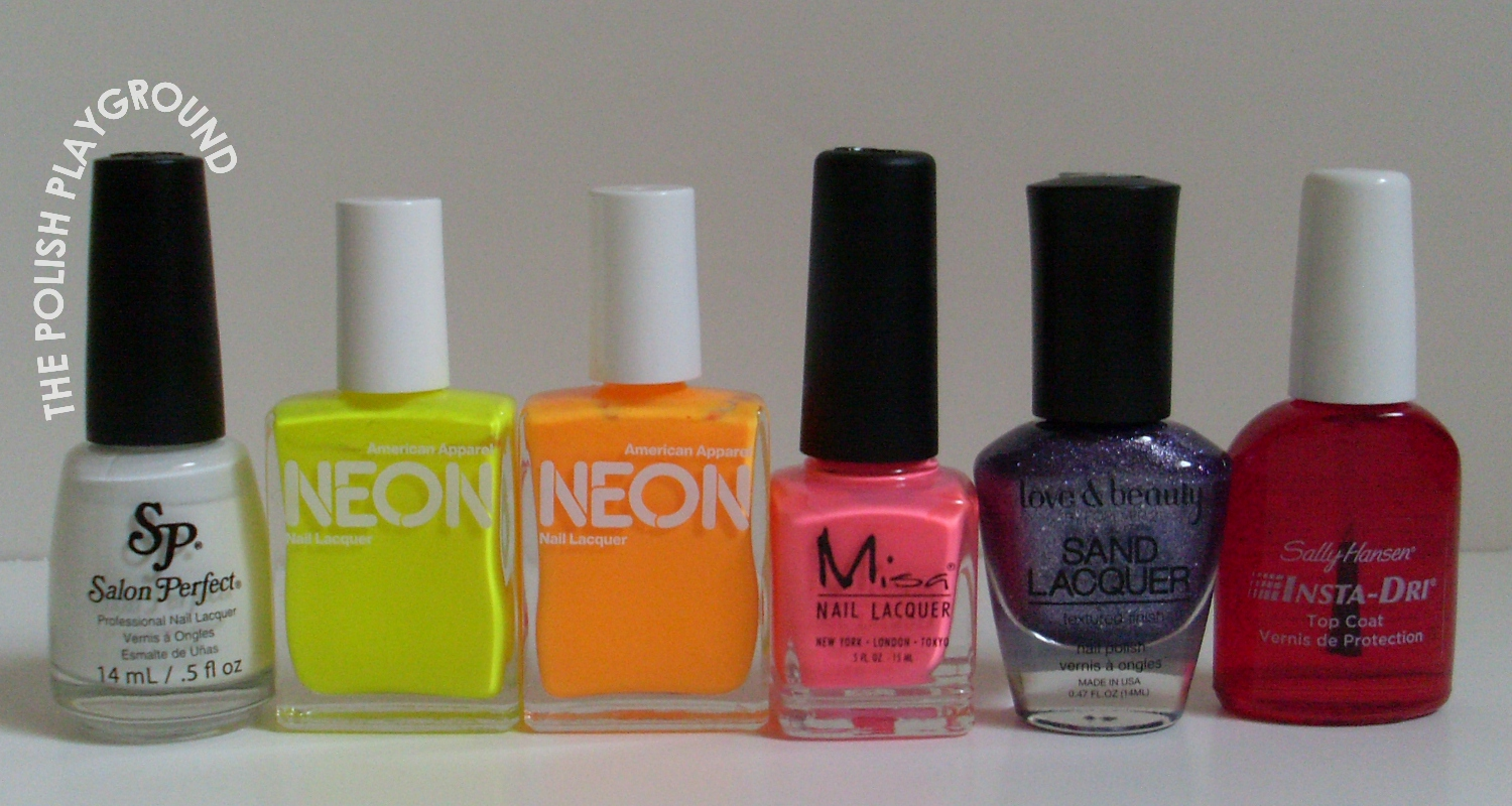 Salon Perfect, American Apparel, Misa, Love & Beauty, Sally Hansen