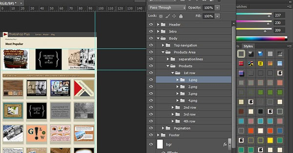 Using PSD Files and Generator to Create Site in Adobe Muse