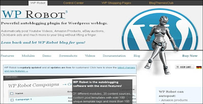 WP Robot - Unique Autoblogging Plugin