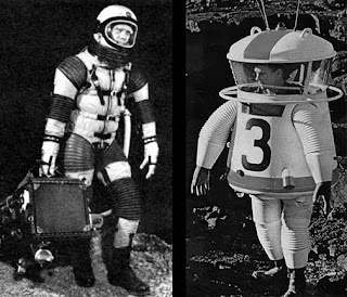 NASA Moon Landing Prototype Suits
