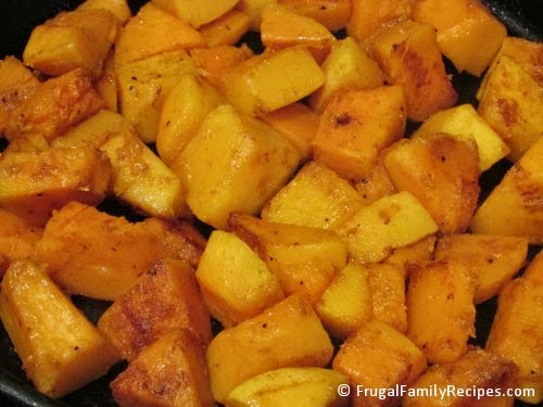 Roasted Butternut Squash Recipe by FrugalFamilyRecipes.com