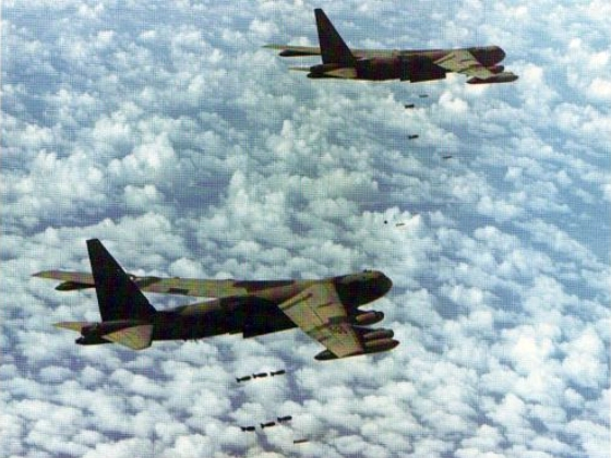52 Bombing North...B 52 Shot Down Over Vietnam