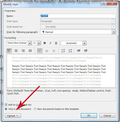 How To Adjust The Paragraph Settings Of A Style In MS Word