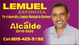 POR EL DESARROLLO Y LIMPIEZA MUNICIPAL DE BARAHONA.
