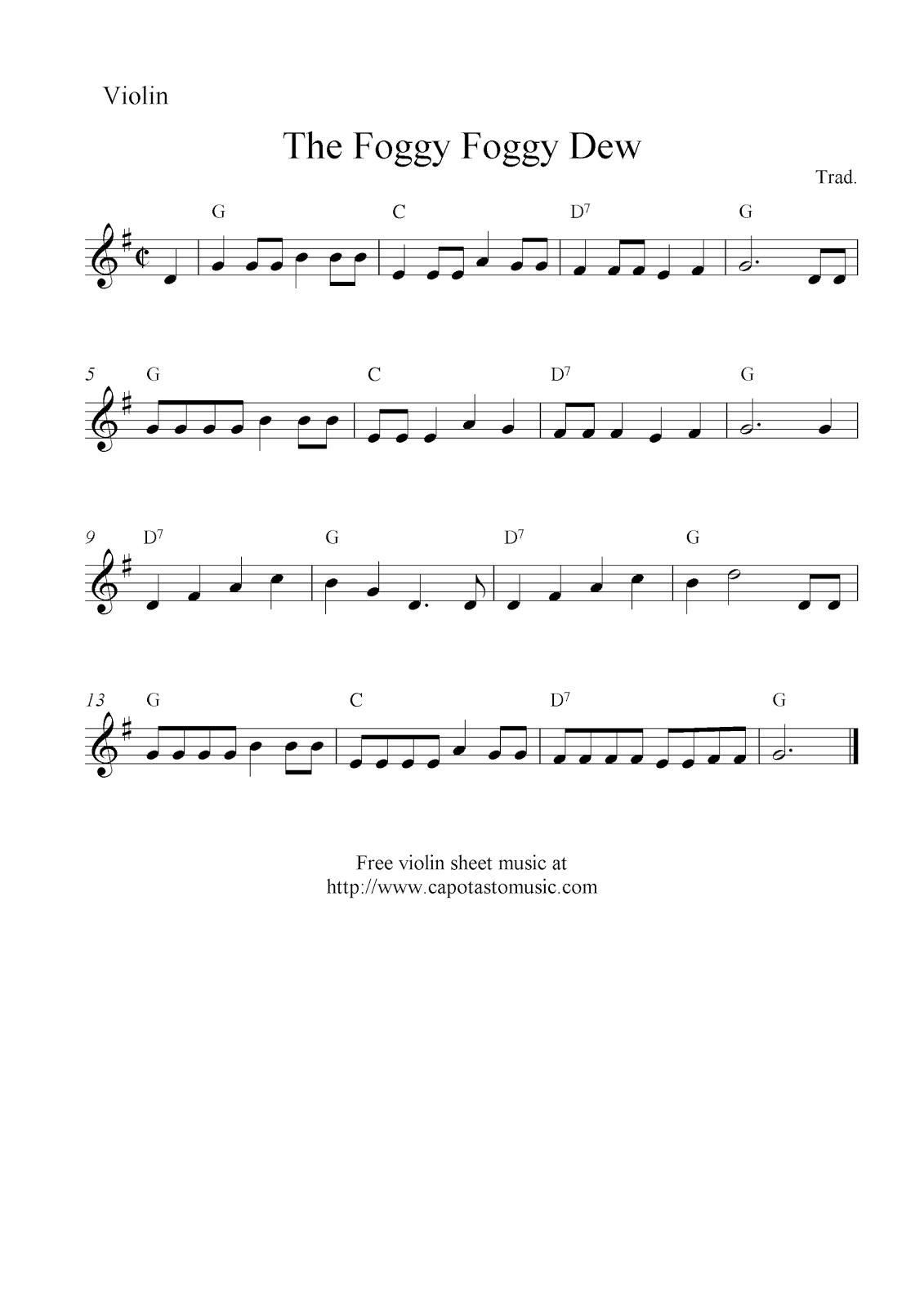 Beginner violin sheet music christmas violin sheet music notes