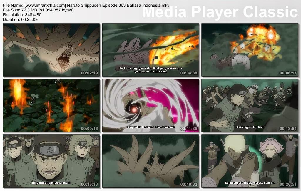 """Download Film / Anime Naruto Episode 363 """"Jutsu Aliansi Shinobi"""" Shippuden Bahasa Indonesia"""