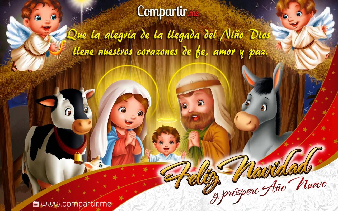 TU SALUDO: FELIZ NAVIDAD 2013 Y VENTUROSO AÑO 2014 Tarjeta-cristiana-para-navidad