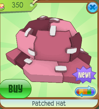 Animal Jam Frozen Patched Hat