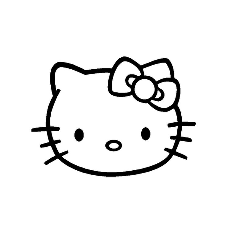 coloriage tete hello kitty coloriage hello kitty tete ancenscp