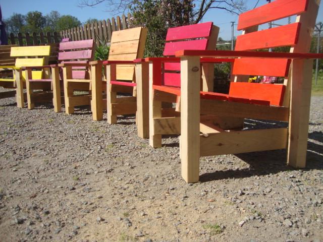 Recyclage Palette Salon De Jardin Des