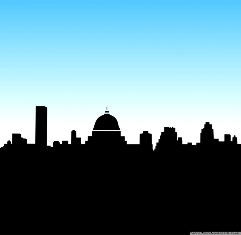 Generic Skyline Silhouette   wallpaper