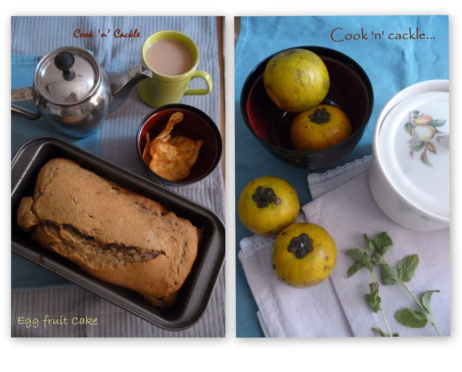 How to make a fruit loaf cake